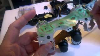Reparar cruceta desgastada Dual Shock 2 SCPH-10010 A