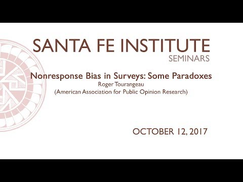 Nonresponse Bias in Surveys: Some Paradoxes