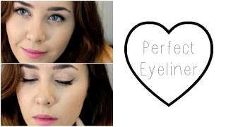 Perfect Eyeliner (Pencil) | fast, simple, for beginners Thumbnail
