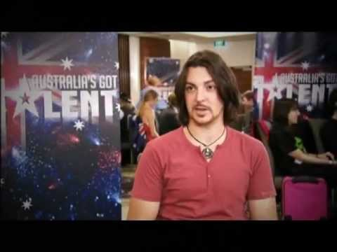 Jonny Taylor sings Young Man - Australia's Got Talent 2012 audition 7 [FULL]