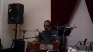 Bhiga bhiga hai sama on harmonium tabla by Dr Qasim