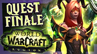 WoW Legion Demon Hunter Quest Line #3 - Quest Finale and Choosing Sides!