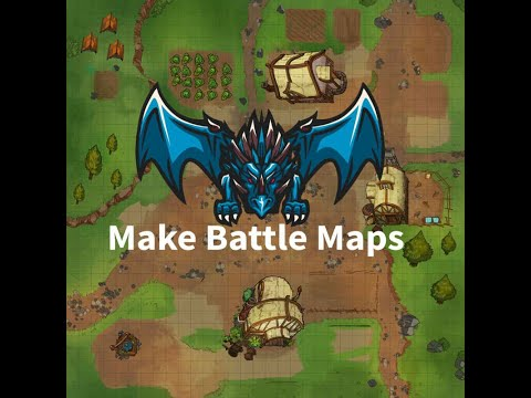 Create RPG Battle Maps In 10 Minutes Using TabletopRPG.io