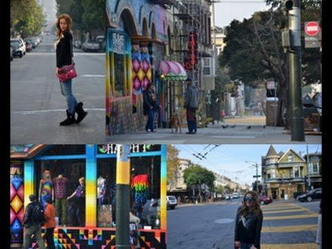 Haight Street And Lombard Street In San Francisco, California
