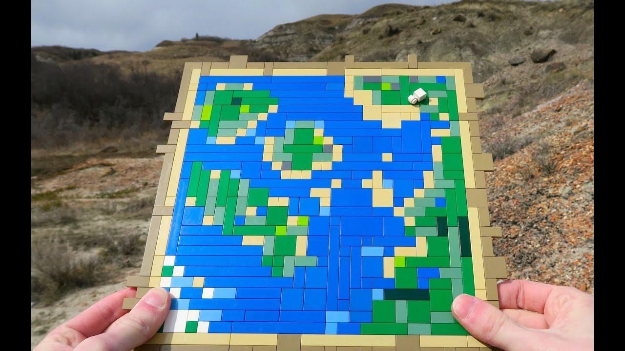 Lego map minecraft youtube gumiabroncs Images