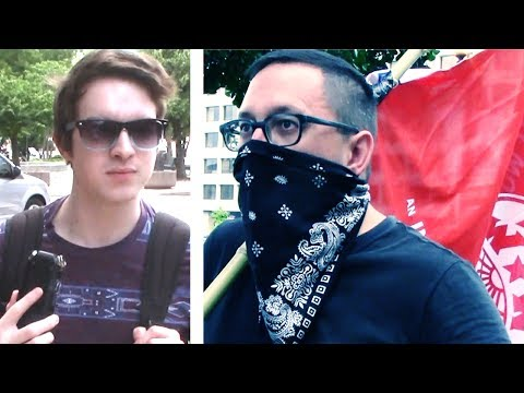 Download Youtube: Trolling an ANTIFA Rally!