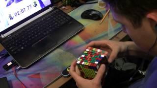 8x8 Rubik's Cube World Record - 5:49.08