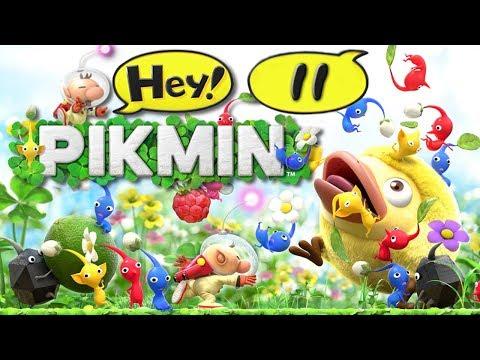 LES TERRES DE FEEEEUUUUU #11 Hey Pikmin
