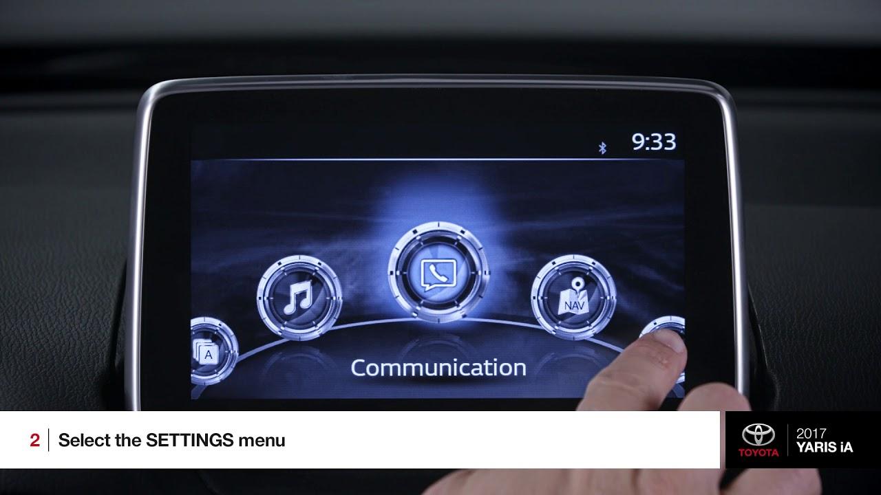 How It Works Bluetooth Toyota Yaris Ia Tony Divino