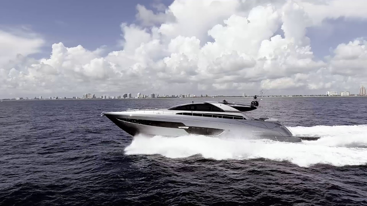 Luxury Yacht   Riva 88&39; Domino Super   Ferretti Group America   YouTube
