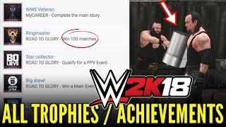 Wwe 2k18 news: all trophies & achievements! full list ps4 & xbox one [#wwe2k18 news]