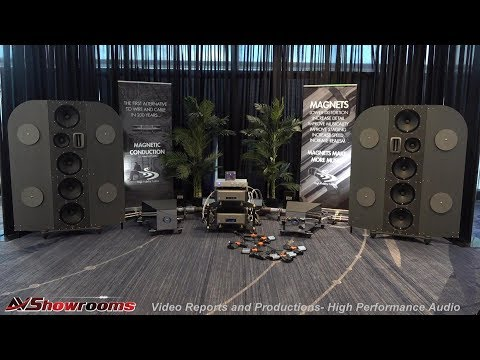 High Fidelity Cables, Bafflex Loudspeakers, MA70 Amplifier, Pro Series Cables, Concert Like Sound