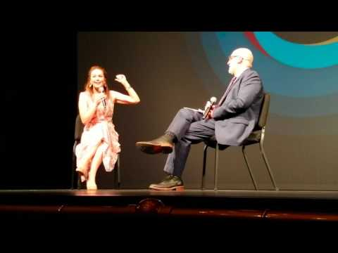 Diane Lane Q/A at Paris Can Wait Movie Premiere in Sarasota Film Festival 2017