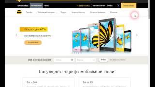 видео «Интернет на все» Билайн - описание и подключение услуги