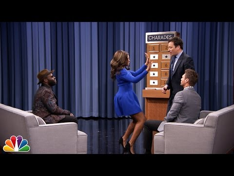 Charades with Ryan Seacrest and Taraji P. Henson