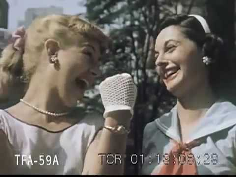 Skyline New York 1955 ✪ Retro Documentary Films HD