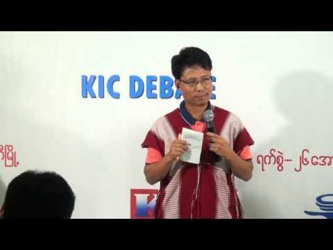 KIC Debate_Myawaddy