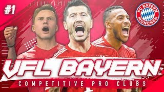 FIFA 19 Pro Clubs VFL | #1 | The Beginning - Two Cup Finals! [11v11 Competitive]