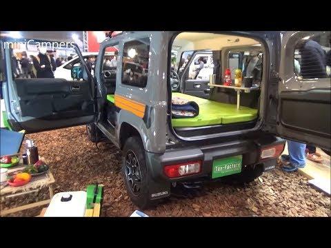 Suzuki Jimny camper 4x4 - Toy Factory TentCar 2019