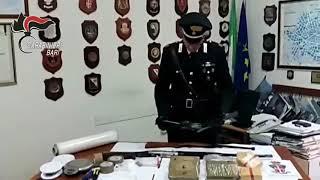 Santeramo, Arrestate due donne albanesi custodi insospettabili di armi e drogatto
