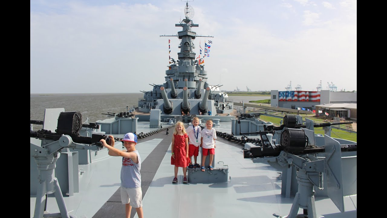 Battleship Tour Mobile Alabama