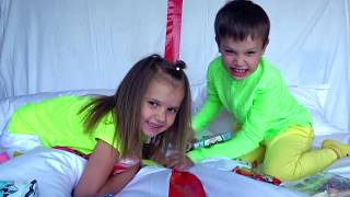 Макс и Катя их японские сладости