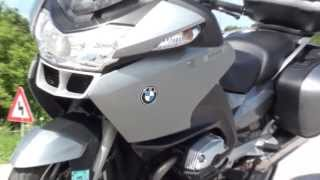 BMW R1200RT on the road
