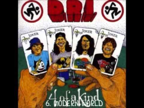 D.R.I. - 4 Of A Kind (1988) full album