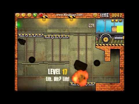 Играть в онлайн флеш игру Погрузчик 4 Truck Loader 4