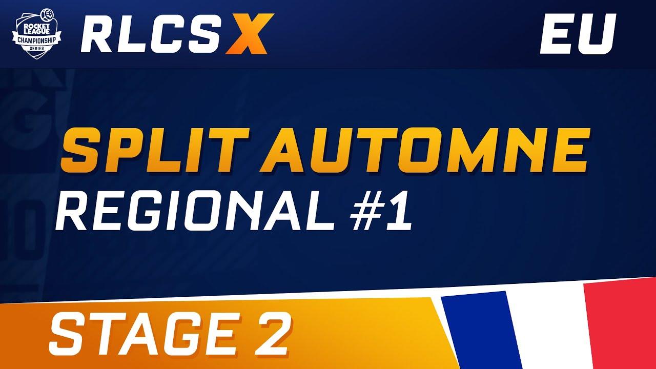RLCS X - EU Regional 1 - Stage 2 - Full Replay