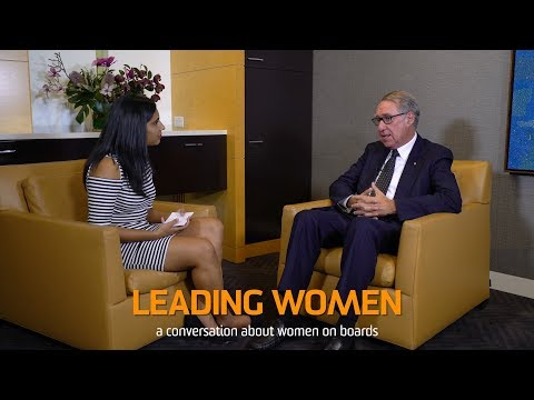 Leading Women: David Gonski AC, UNSW Sydney Chancellor