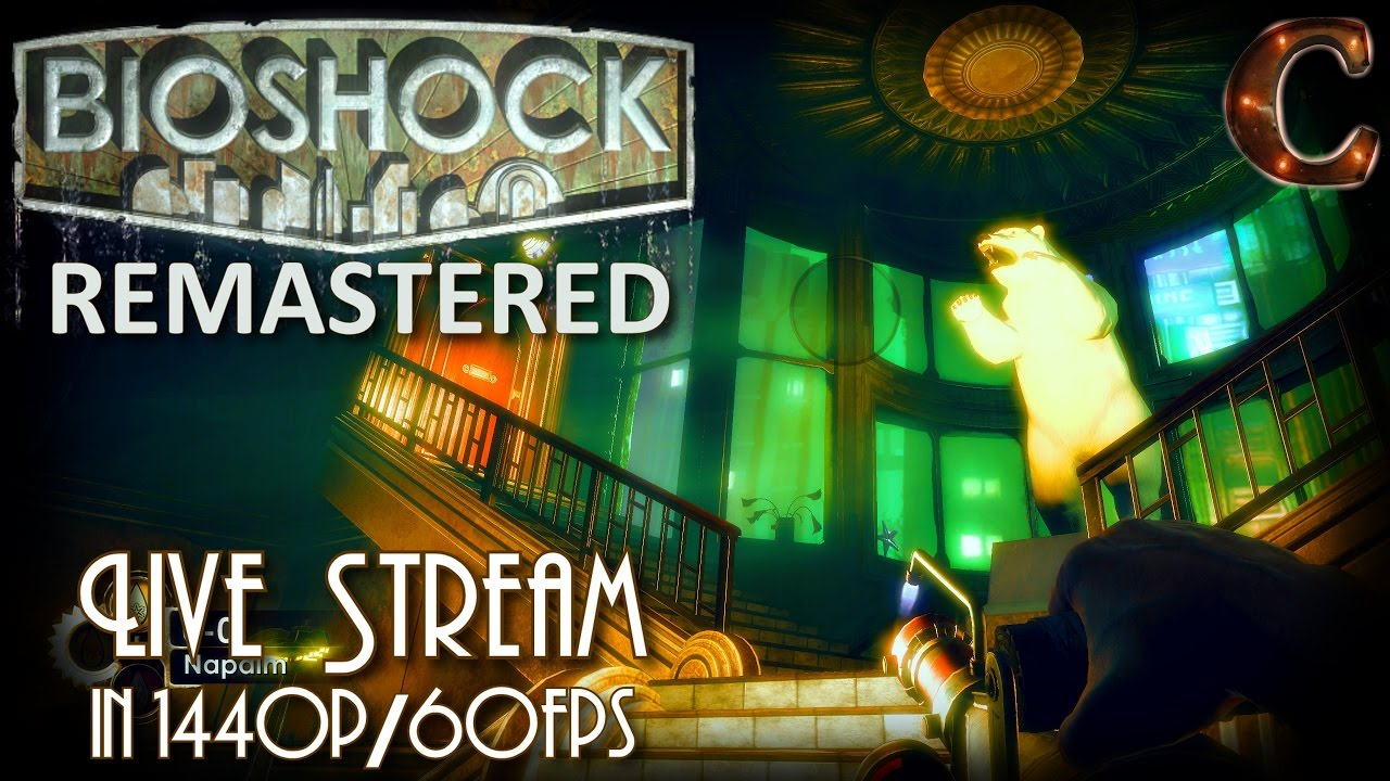 Bioshock Remastered, in 1440p / 60fps on Survivor Mode! Part 12: Olympus  Heights