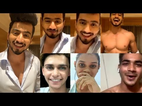 Mr Faisu FUNNY LIVE Video Chat With Fans In Chandigarh