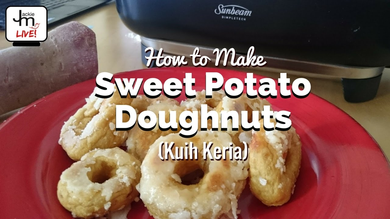 How To Make Sweet Potato Kuih