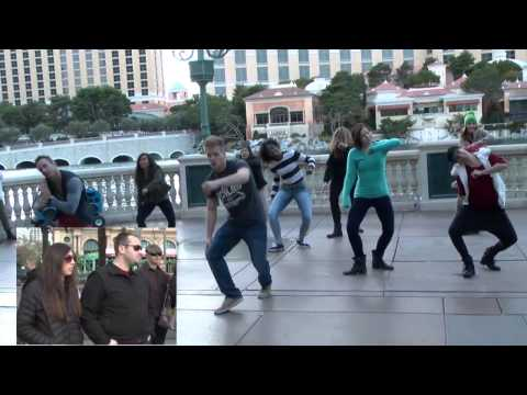 Flash Mob Proposal in Las Vegas