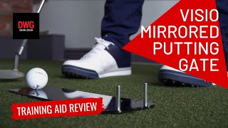 Visio Mirrored Putting Gate - Training Aid Review