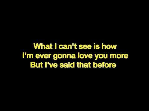 Brad Paisley  Then iPopLyrics