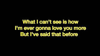 Brad Paisley - Then (iPopLyrics)