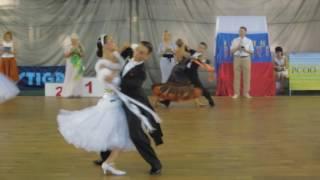 Гогуа Давид - Пахомова Алина, венский вальс, 2016, Шахты