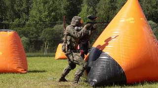 Пейнтбольная тренировка 06.06.2015