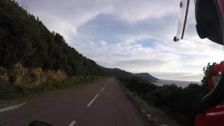 AoB Onboard Sunset Corsica D81b From Calvi To Marina De Porte