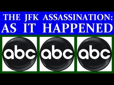 ABC-TV (11/22/63) (TWO HOURS OF JFK ASSASSINATION COVERAGE)
