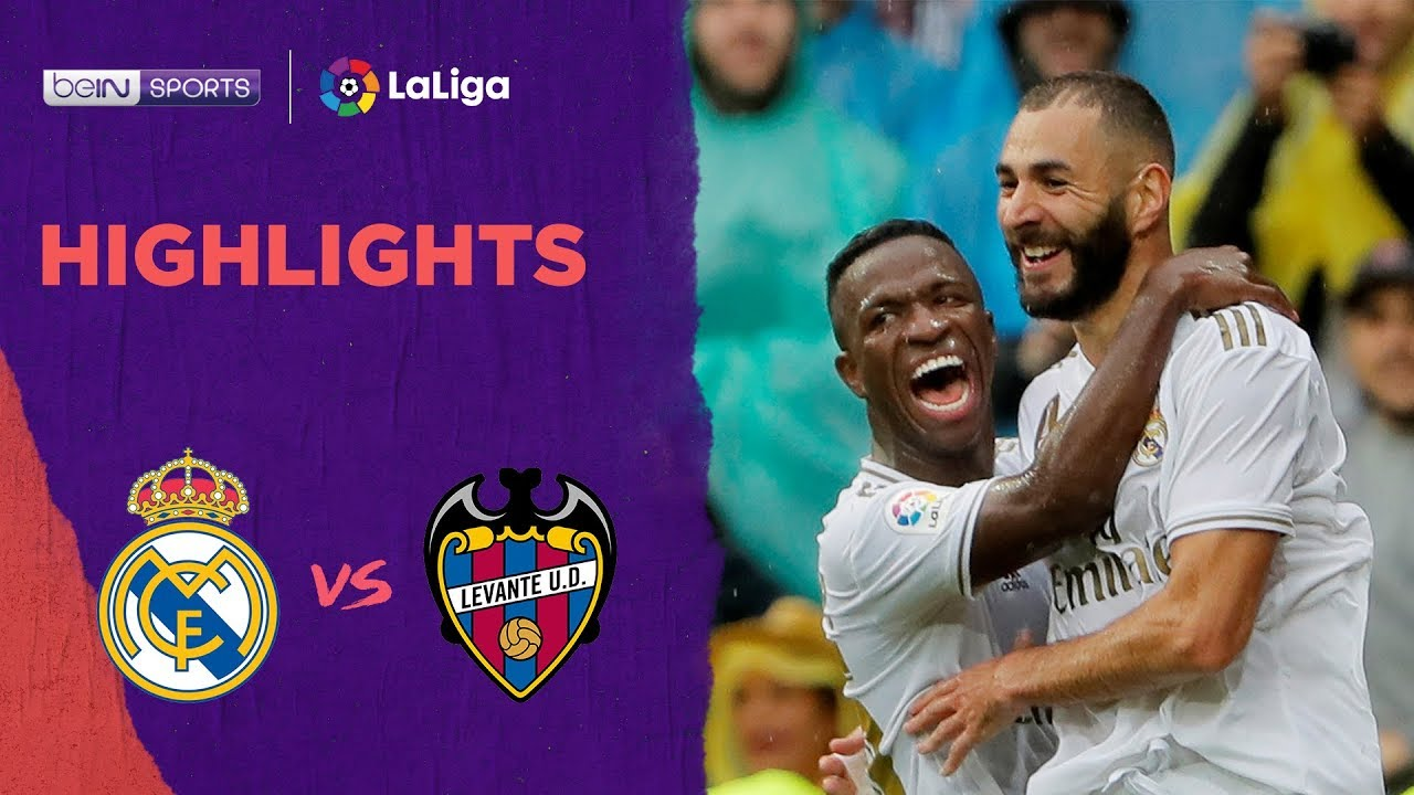 Real Madrid 3-2 Levante | LaLiga 19/20 Match Highlights