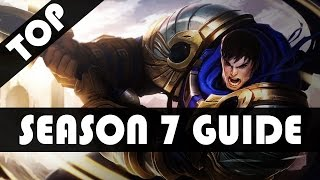 S7 COMPLETE GAREN GUIDE - League of Legends Garen Guide/Tutorial (Season 7)