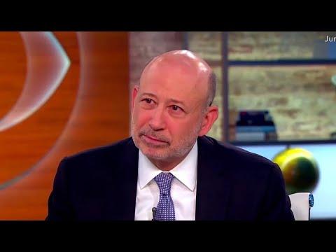 Goldman CEO Lloyd Blankfein on income inequality dangers ...