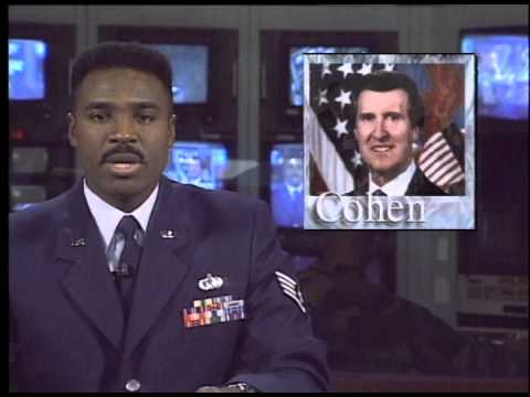 AFKN News Report Secretary of Defense Visit 1997