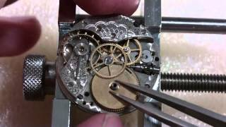Broken mainspring, Elgin wrist watch, Part 1 of 2, discovery