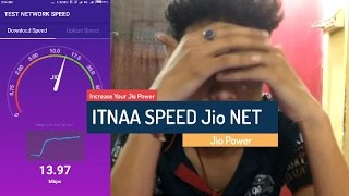 How to Increase Jio 4g Net Speed  - Ittna Speed OMG!