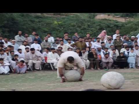 Naeem Awan Madni Champion Hazara Stone Lifting