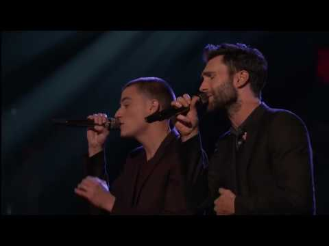 Adam Levine & Chris Jamison  Lost Without U The Voice 2014 Finale